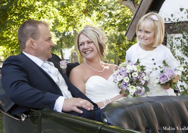 bröllop glädje brud brudgum tärna blombukett