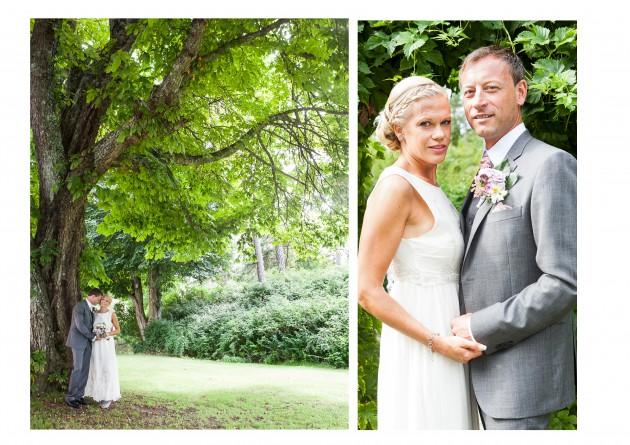 bröllop magnus marina grönska Ihre kvarn brud brudgum