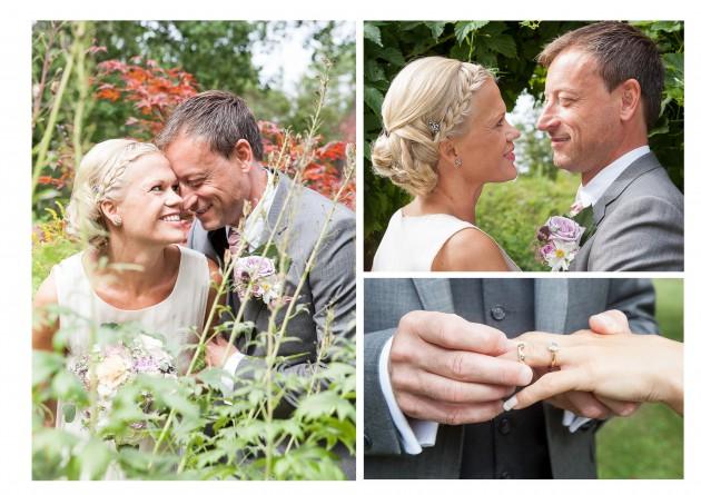 bröllop magnus marina grönska ring bukett koursage kärlek