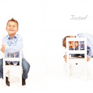 josef barnfotografering bus skoj stol kurragömma