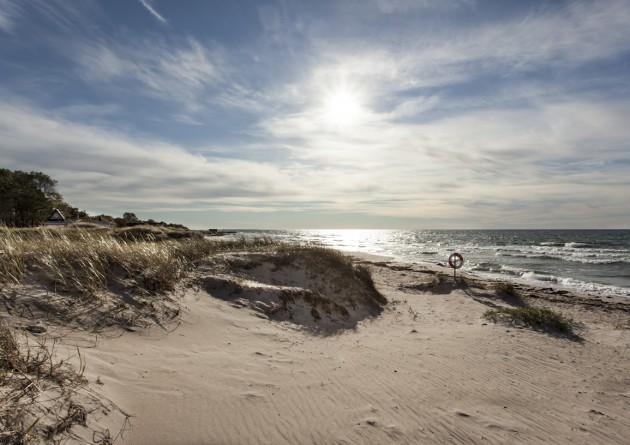 natur hav gotland strand tofta västergarn